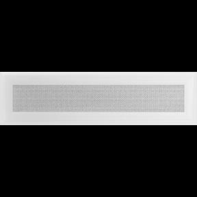 Решетка KRATKI Oskar белый (покрашенная) 11х42 см