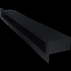 Решетка KRATKI туннель чёрная 6х60 см
