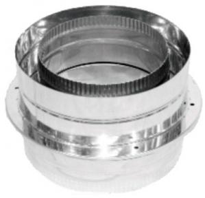 Крышка взрывного клапана нерж/нерж Версия Люкс D-100/160 мм толщ. 0,6 мм