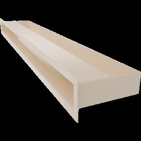 Решетка KRATKI люфт бежевая 6х80 см