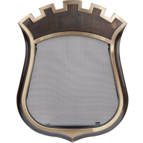 Решетка KRATKI герб с короной 345х438 мм