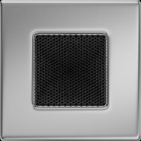 Решетка KRATKI никелированная 11х11 см