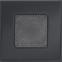 Решетка KRATKI графитовая (покрашенная) 11х11 см