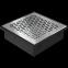 Решетка KRATKI половая Floor шлифованая 17х17 см