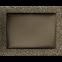 Решетка KRATKI чёрное золото (покрашенная) 22х30 см