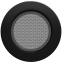 Решетка KRATKI круглая FI чёрная 125 мм