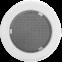 Решетка KRATKI круглая FI белая 150 мм