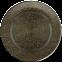 Решетка KRATKI круглая FI чёрно-золотая 150 мм