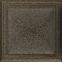 Решетка KRATKI Oskar чёрно-золотой (покрашенная) 22х22 см